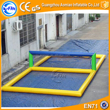 Inflatable Beach Volleyball Court Air Tennis Courts Volleyball Court for Sale