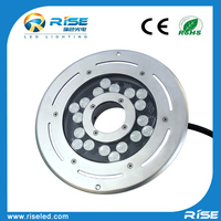 fountain light stainless steel 54/72w led light underwater with waterproof ip 68