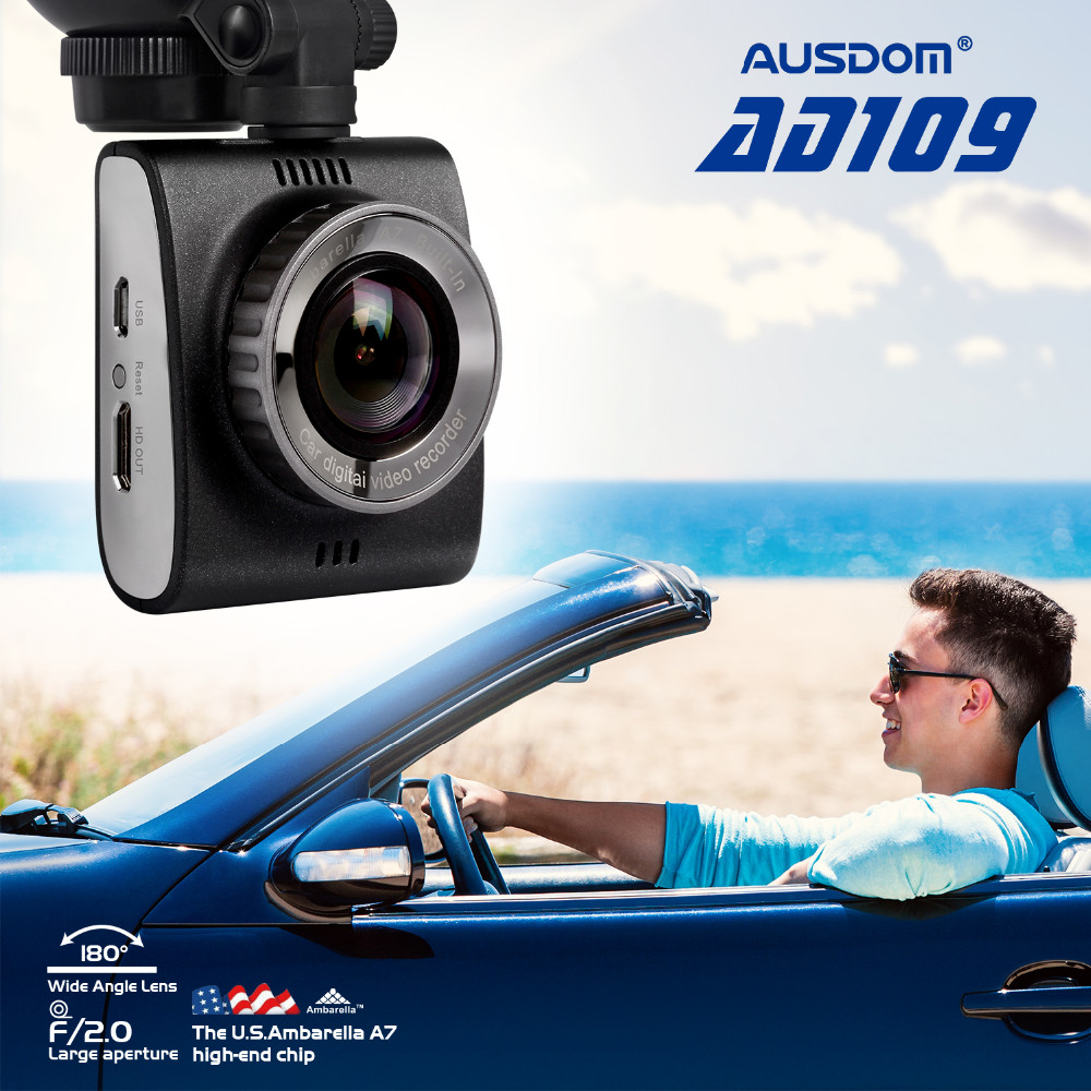 "Ambarella A7 mini car dvr camera 2.0"" FHD high-definition video camera with G-sensor"