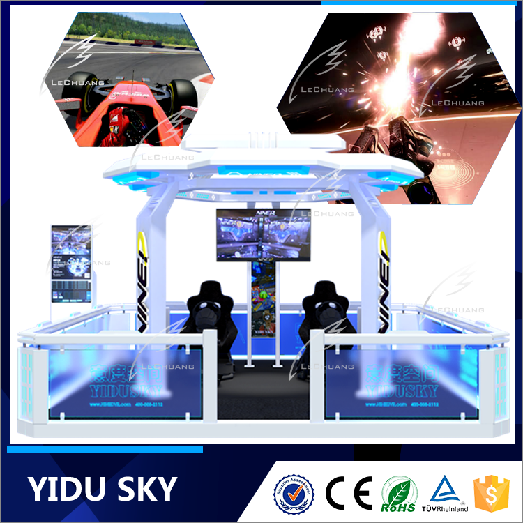 Virtual Reality Equipment 5 Players YISUDKY Vr Dynamic Motion Rider System