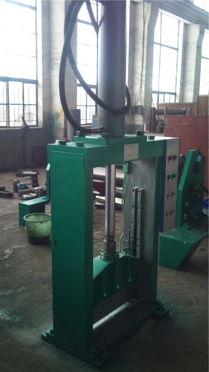 Hydraulic rubber bale cutter/rubber bale cutting machine/rubber sheet cutting machine
