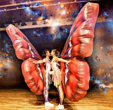 Custom Outdoor advertising inflatable butterfly wings costume