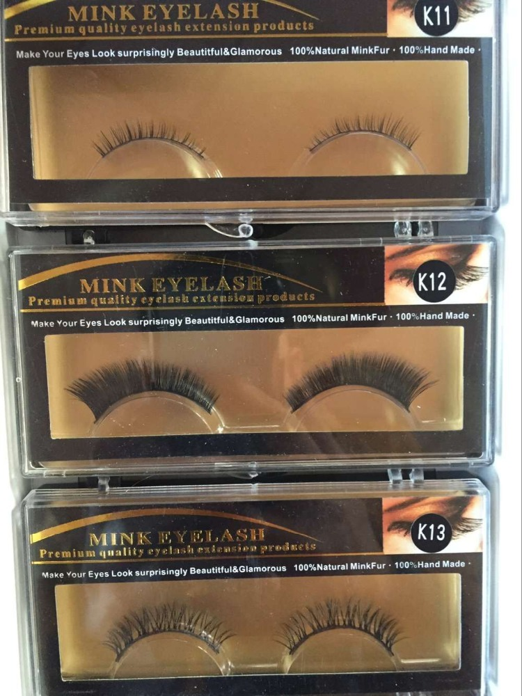 hot sale private label wholesale 3D mink fur fales eyelash