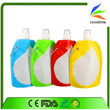 water bottle bag outdoor backpack carry bag/drinking water in plastic bag/water bag
