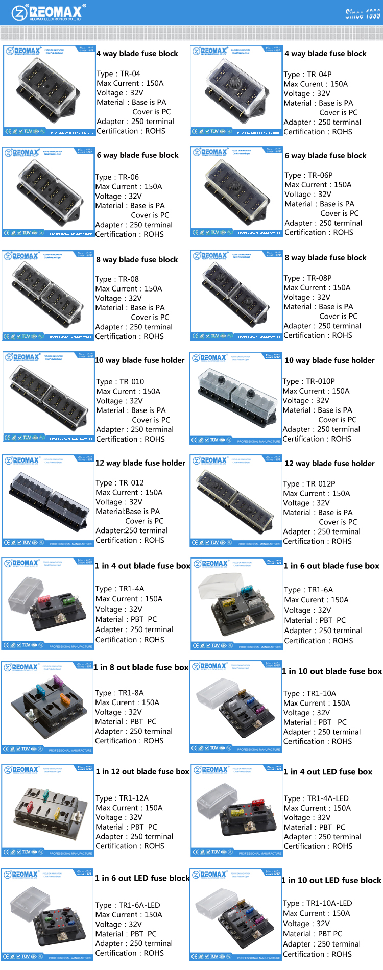 Atm Att 20a 25a 30a 8 10 Ways Car Vehicle Auto Automotive Blade Fuse Box Faq Of Holder Block Relay Series