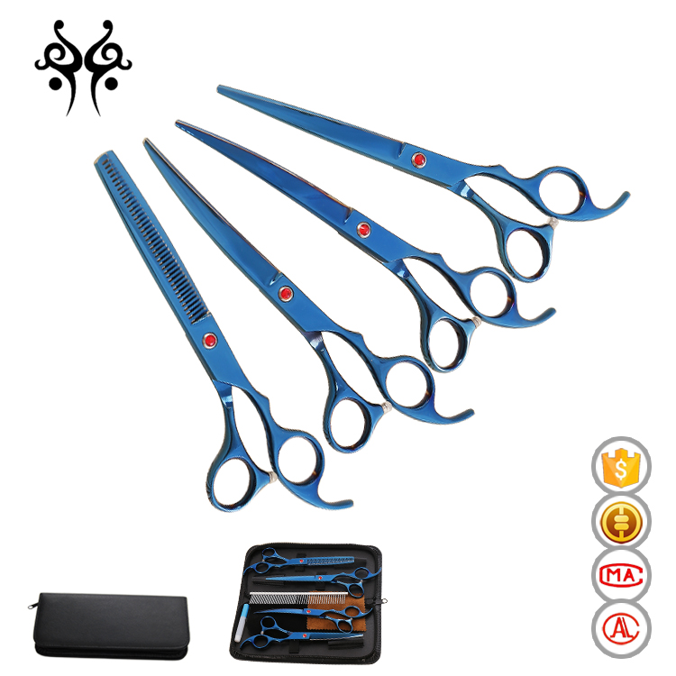 Hot sale wholesale professional pet scissors set