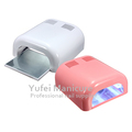 Good quality nail art gel machine 36w pink black white gel curing nail art lamp