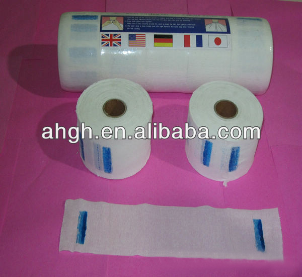 Barbers disposable neck tape paper