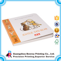 Customized Eco-friendly Color Kid Cardboard Book Printing Wholesale