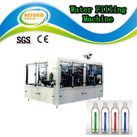 Perfect mineral water glass / bottle packing / filling machine