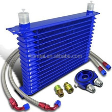 radiator type hydraulic oil cooler for many car cooling system water air cooler heat exchanger