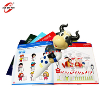 English Translation Preschool Learning Toys OEM Talking Pen Book Promotional Gift Magic Recording Pen