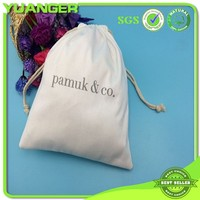 Factory Wholesale Drawstring Custom Blank Canvas Laundry Bag