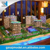 Miniature Houses For Sale,Architecture Scale Model With LED Light