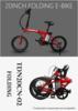 Best price i-ride cheap electric folding bike for city road