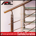 ABLinox ss 304/316 stainless steel railing Protective residential glass fence