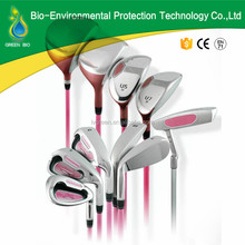 Ladies golf clubs for nice golf bags with pink color