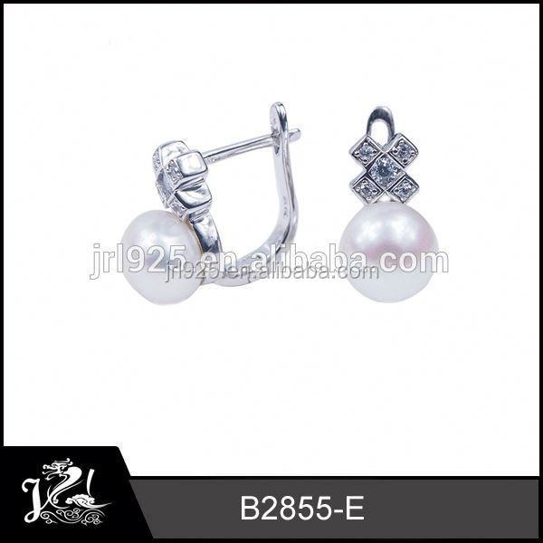 JRL New Products Top Of Ear black tourmaline earrings