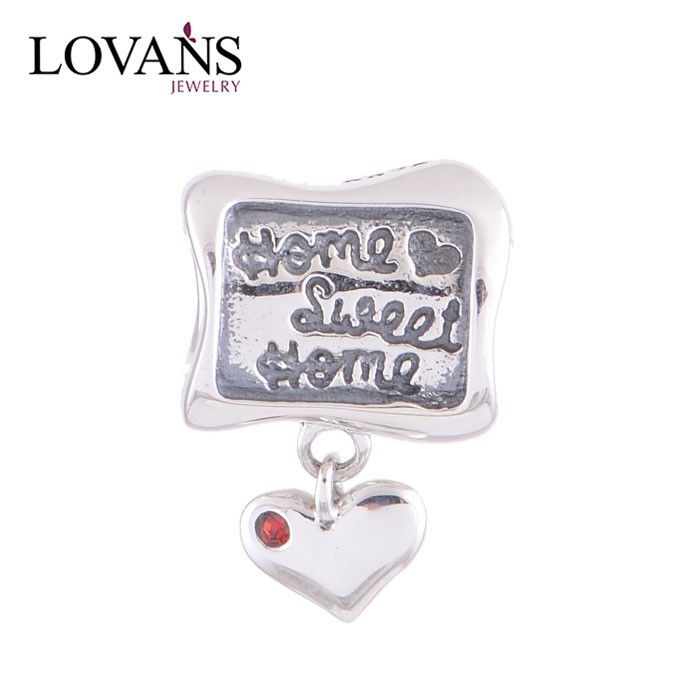 Home Sweet Home Family Letter Charms For Christmas DIY Jewelry Making Hand Made Wholesale YZ433