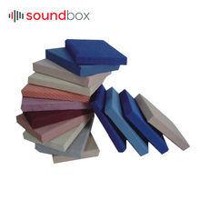 Fireproof Sound Absorption Acoustic Sound Reflecting Fabric Panel Acoustic For Cinema, Conference Hall