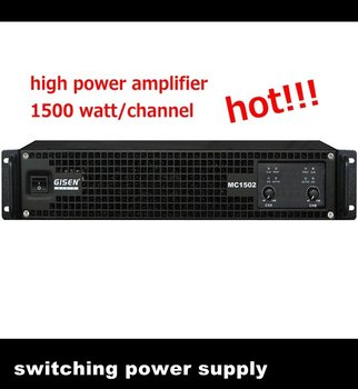 MC1502 high power pro amplifier