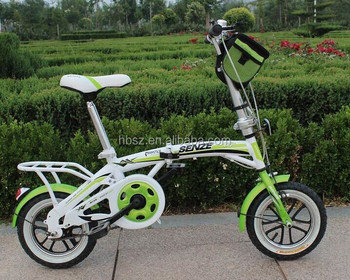 single Speed 20 inch Aluminum Folding Bike With High Quality