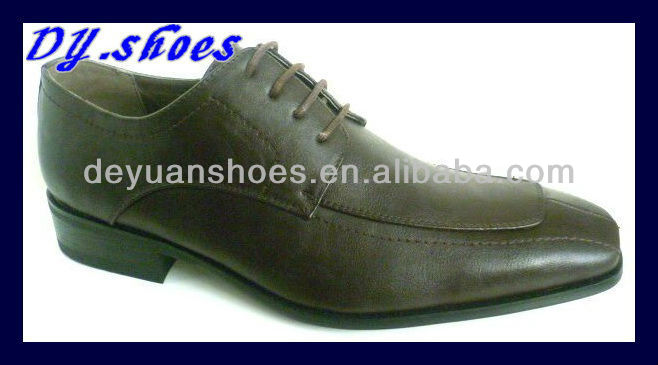 Italian style men's dress shoes with best quality