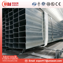 astm a312 q195 rectangular steel pipe hollow section
