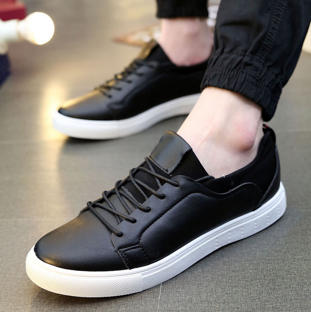 2016 man's leather shoes casual shoes for men