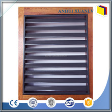 BV CE approved aluminum shutter profile roller shutter parts with powder coating silver
