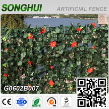 2016 latest design green cheap plastic fence screen privacy for garden