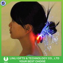 Colorful LED Glow Flashing Hair Extension, Party Decoration LED Glow Flashing Hair Accessories