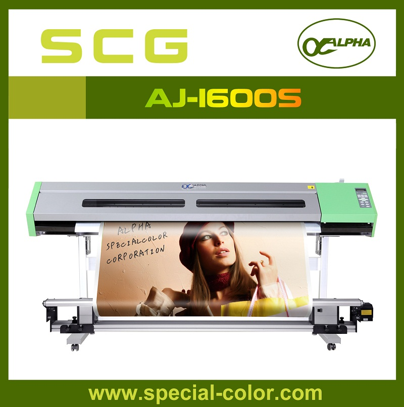 ALPAH AJ-1600S 1.6m Eco Large Format Digital Printer