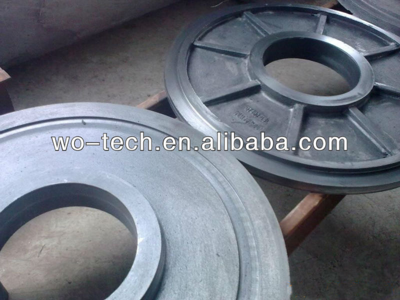 large duplex stainless steel casting
