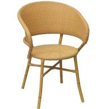 Resin Wicker Restaurant Cafe Bistro Chair