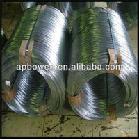 Anping factory electro galvanized wire/Zinc coated iron wire/gi wire BWG15