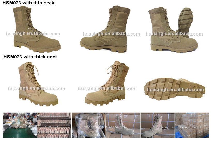 Altama jungle equipment for hot weather ops Mil Spec style desert boots with panama sole tan