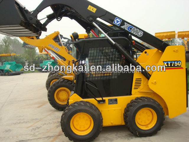 Chinese XCMG XT750 mini skid steer loader for sale