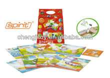 "Children english reading pen with a total of 10 ""Fairy Tale 3&4"" books for options and 1 data CD"