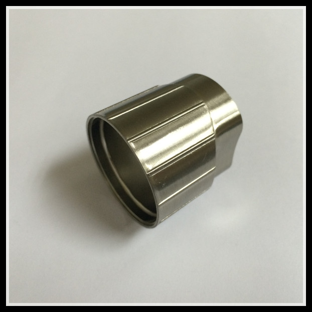 Custom CNC machining Carbon Steel Material and Forged Technics tube fitting made in china
