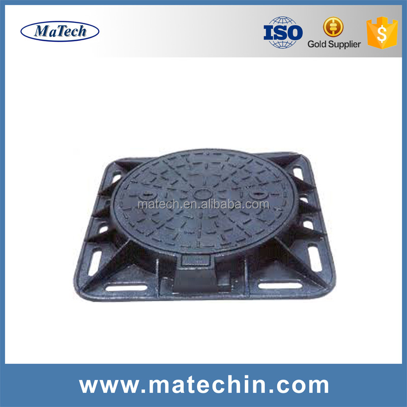 Foundry Customized High Quality Ductile Manhole Cast Iron
