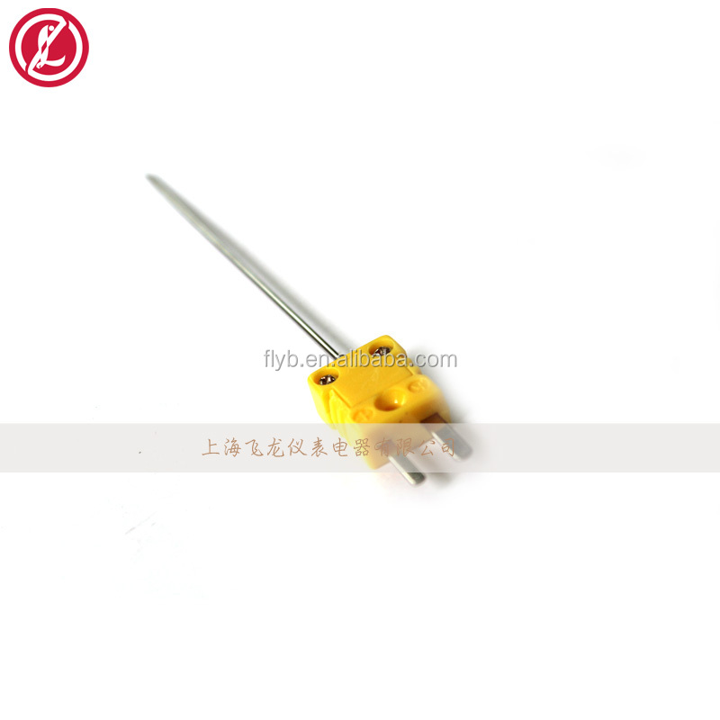 egt thermocouple sensor probe with fixing flange