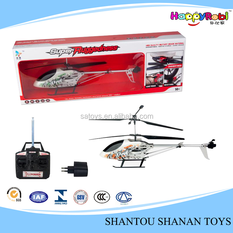 3.5 channel remote control rc alloy model aircraft