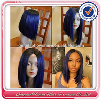 Top fashion new design remy lace front bob wigs brazilian hair wigs