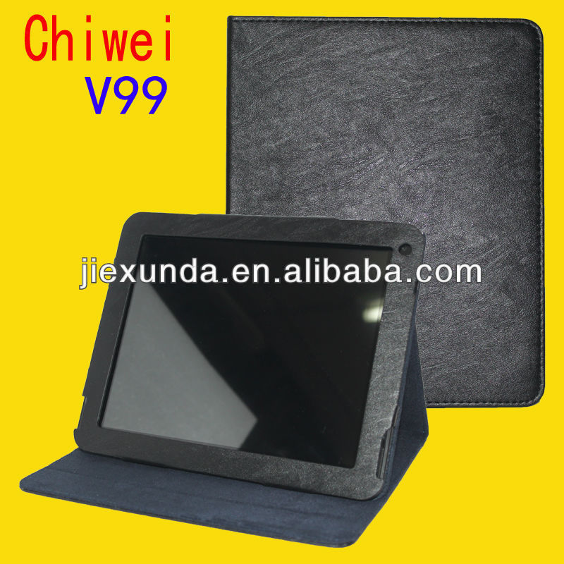 "Bundle Sale Special Leather Case for 9.7"" Chuwi V99 Quad Core Tablet PC"