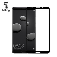 Best 9H Anti Scratch Silk print Tempered Glass Screen Protector For Huawei Mate 10 Honor 8 9 v9 P9 P10