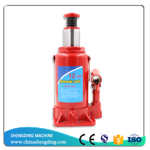 manual China car lift 12ton hydraulic bottle jack