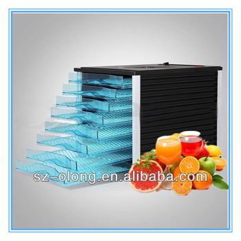 New 8 Tray Food Dehydrator Commercial Quality Preserve Fruit Beef Jerky Dryer food dehydration