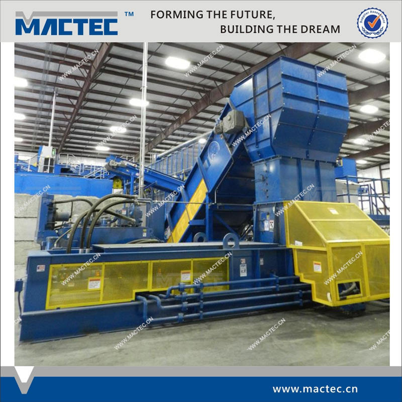 European standard automatic horizontal baler for recycled paper