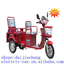 3 wheel 2seats motorcycle electric tricycle